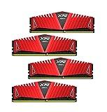 ADATA 32GB XPG Z1 Series DDR4 3200MHz PC4-25600 CL16 Quad Channel Kit (4x8GB) Red Heatsinks