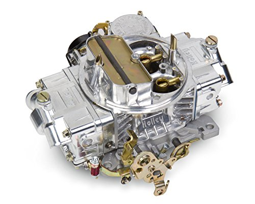 Holley Street Carburetor - Holley 0-80508SA Polished Aluminum Universal Street/Strip Carburetor