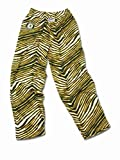 Oakland Athletics ZUBAZ Green Yellow White Vintage Style Zebra Pants