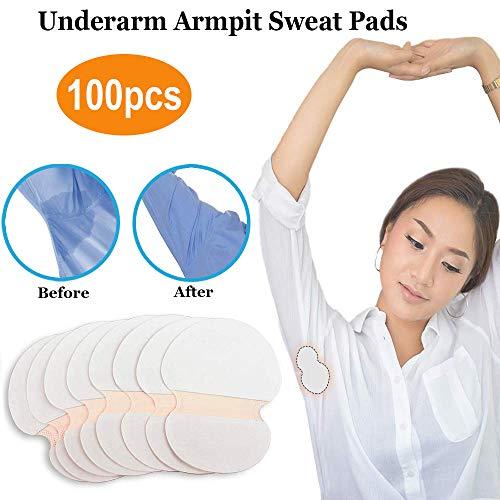 - StillCool 100PCS Underarm Armpit Sweat Perspiration Pads