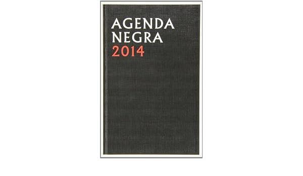 Agenda Negra 2014: Amazon.es: Vv.Aa.: Libros