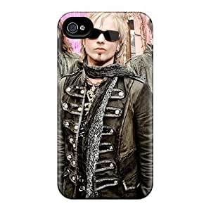 Excellent Hard Phone Cases For Iphone 4/4s (pao17903wPeY) Provide Private Custom High Resolution Edguy Band Pattern