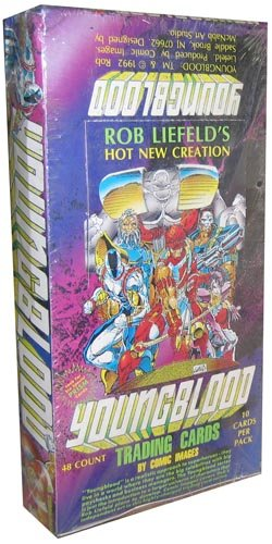 Youngblood Comic Book Images Trading Cards - 48 packs