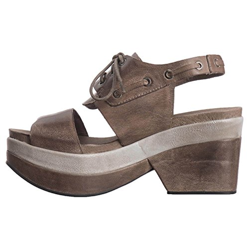 up Lace Grey Women's Band Leather Antelope 707 HIqw7xAwa