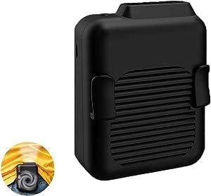 Portable USB Rechargeable Neck Fan, Waistband Fan, Working Cooling Fan Hand Free Personal Fan Wearable Cooler Fan for Traveling Working Outdoor Office (6000mAh) …