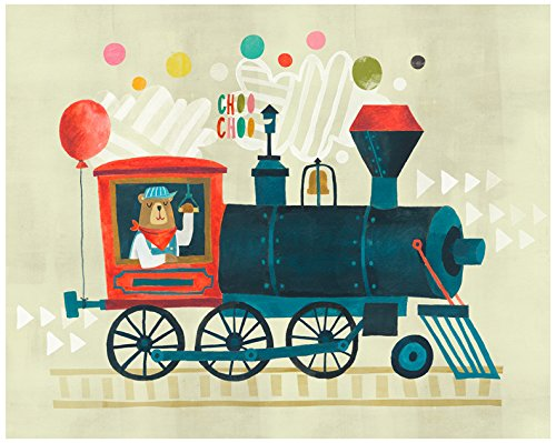 Baby Irene Four Poster (BR &Nameinternal - Bear Choo 30x24 canvas Wall Art, by Irene Chan)