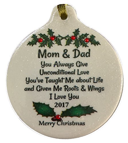 Best Gifts For Parents Christmas: Laurie G Creations Mom And Dad Unconditional Love