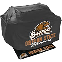 Mr. Bar B Q NCAA Grill Cover and Grill Mat Set, Oregon State Beavers