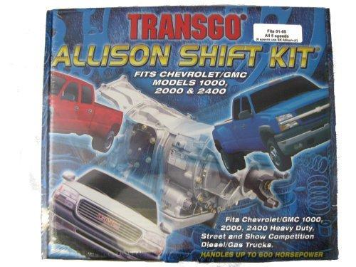 LT1000 LT2000 Allison Duramax Transgo Shift Kit