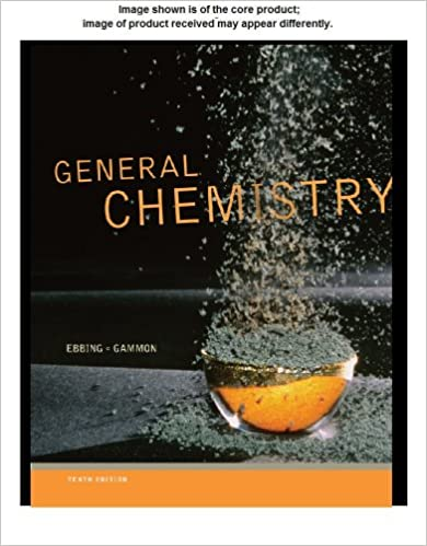 General Chemistry Student Solutions Manual 10th Edition Darrell