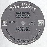 Rossini Overtures : La Gazza Ladra, La Scala Di Seta, Il Viaggio a Reims, L'italiana in Al Geri, Il Turco in Italia / George Szell, the Cleveland Orchestra / Stereo
