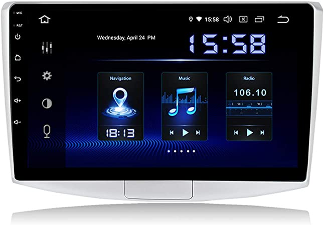Dasaita 10 2 Zoll Android 9 0 Single Din Autoradio Mit Elektronik