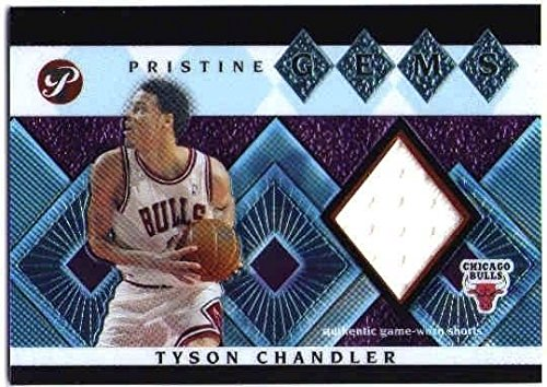 TYSON CHANDLER 2003-04 03/04 Topps Pristine Gems Relics Game Used Jersey Card ()