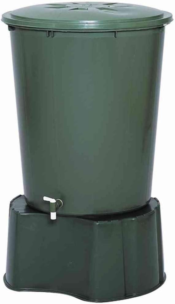Cuve cylindrique de r/écup/ération deau pluie 210L