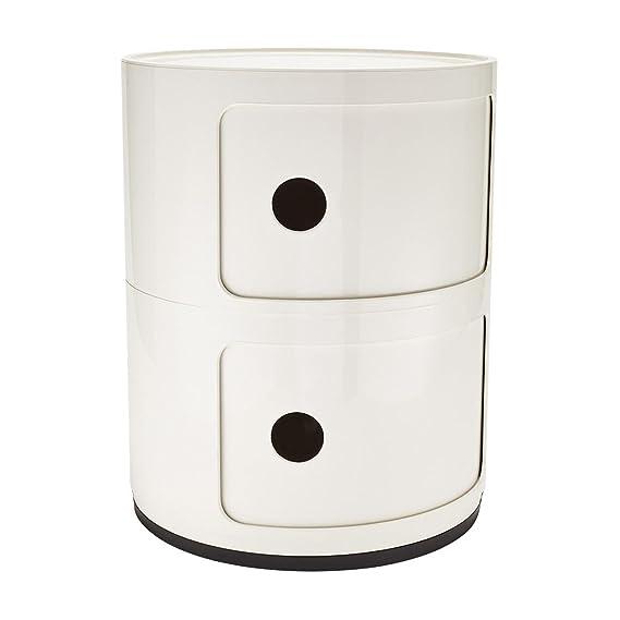Kartell 496603 Componibili - Mueble Organizador, Color Blanco