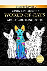 World of Cats: Adult Coloring Book Paperback
