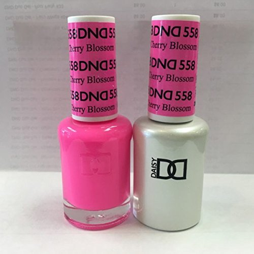 DND Gel & Matching Polish Set (558 - Cherry Blossom) + Buy 5 any color get FREE 1 WonderGel Top Coat