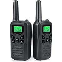 $21 » Walkie Talkies Long Range for Adults Two-Way Radios Up to 5 Miles in Open Fields 22 Channels…