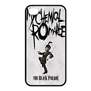 iStyle Zone Snap-on TPU Rubber Coated Case Compatible with iPhone 4 / 4S Cover [My Chemical Romance]