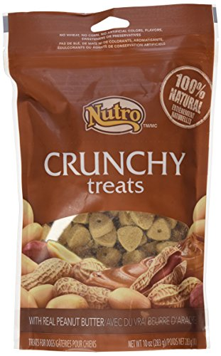 Nutro Crunchy Treats Peanut Butter 10 oz(2Pack)