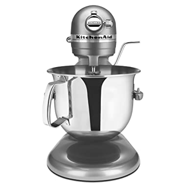 KitchenAid Certified Refurbished RKSM6573CU 6-Qt. Professional Bowl-Lift Stand Mixer - Contour Silver