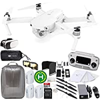 DJI Mavic Pro Alpine White Combo Collapsible Quadcopter EVERYTHING YOU NEED Bundle