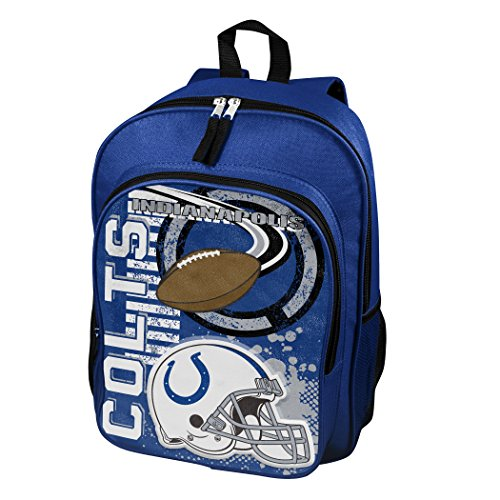 The Northwest Company Officially Licensed NFL Indianapolis Colts Unisex Accelerator Backpack, -