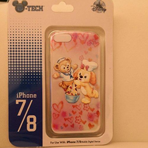 香港ディズニーランド クッキー Cookie iPhoneケース iPhone7 iPhone8 日本未発売 香港限定 HKDL シールのおまけ付き