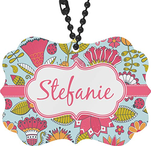 - RNK Shops Wild Flowers Rear View Mirror Charm (Personalized)
