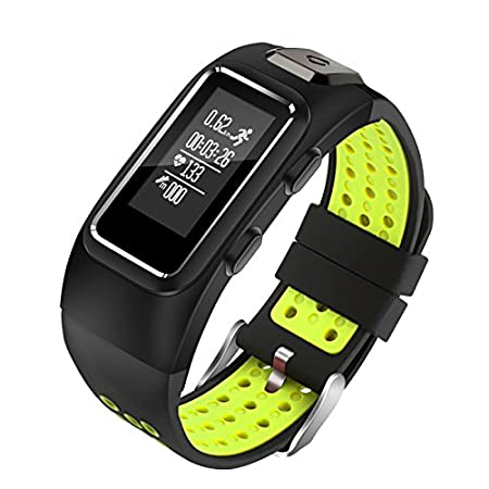 Diggro DB-10 Smart Bracelet Build-in GPS Tracker 20 days Standby Time Four Sport Modes Heart Rate Monitor IP68 Waterproof Bluetooth 4.0 Calling ...