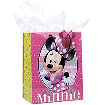 Amazon hallmark large gift bag with tissue paper minnie mouse hallmark large gift bag with tissue paper minnie mouse negle Images