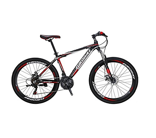 Extrbici XC760 自転車 ロードバイク シマノTZ-50 14段変速 ロードバイク アルミフレーム 700C ディスクブレーキ 中古品 B07D1LMX52 レッド レッド