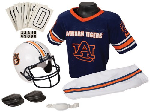 Uniform Small Set University - NCAA Auburn University Youth Uniform Set