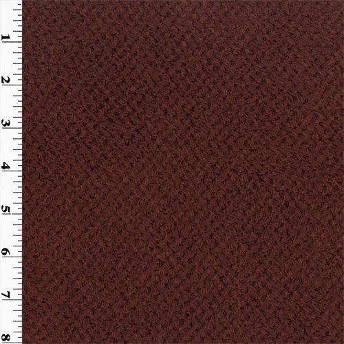 Polartec Curly Fleece - Burgundy, Fabric By the Yard (Fabric Curly Fleece)