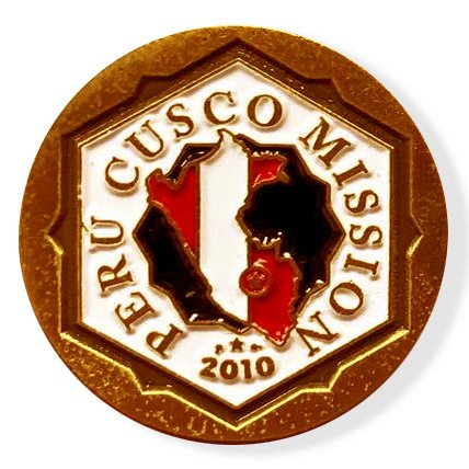 LDS Perú Cusco Mission Commemorative Lapel Pin