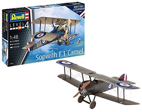 Revell 03906 Legends British Legends:Sopwith F.1Camel, Multi Colour, 1:48 Scale