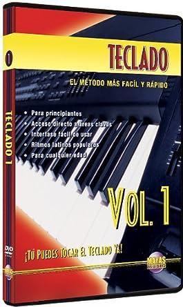 Amazon.com: Teclado, Vol 1: Tu Puedes Tocar El Teclado Ya! (Spanish ...
