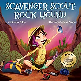 Scavenger Scout: Rock Hound: Seek-and-Find Book for Kids Who Love Rocks by [Wilde, Shelby]