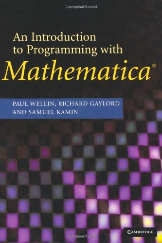 programming with mathematica - 9