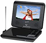 Supersonic 7'' Widescreen Portable DVD Player with 270 Degree Swivel Display