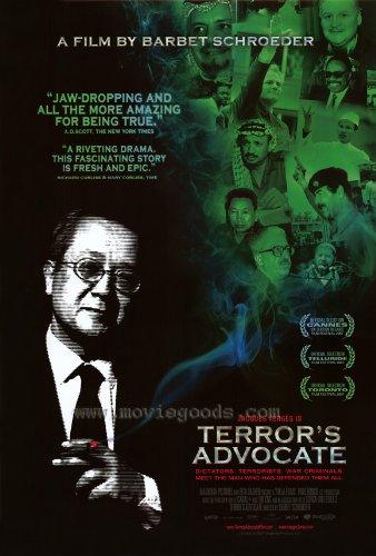Terror's Advocate Poster 27x40 Jacques Verg?s Klaus Barbie Bassam Abu Sharif