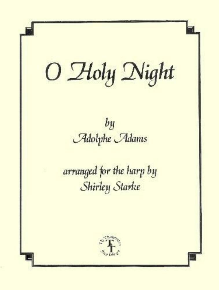 O Holy Night (Carols for Harp and Voice) [Sheet Music] [1997] Adolphe Adams; Shirley Starke