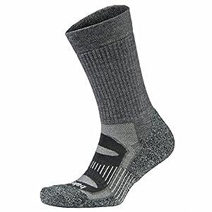 Balega Blister Resist Crew Socks For Men and Women (1-Pair) (2017 Model), Charcoal, Small