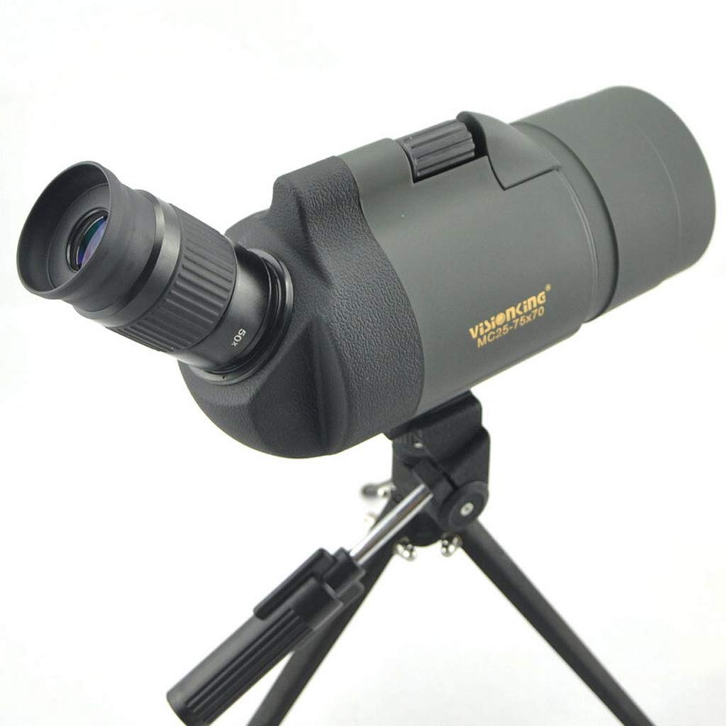 Single Cylinder Telescope 25-75X70 Zoom Monocular Telescope Viewing Mirror High-Definition Outdoor Bird Mirror