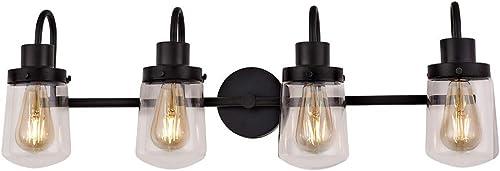 YAOHONG 4-Light Bathroom Vanity Light Fixtures