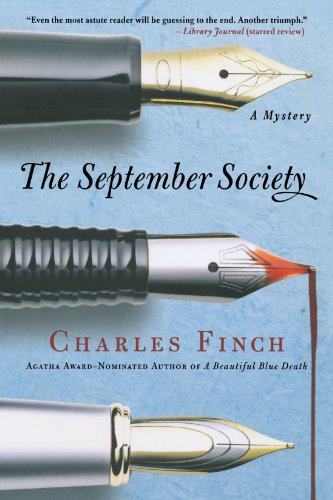 Book cover for The September Society