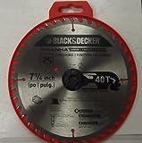 Black & Decker 77-400 7-1/4' x 40 Tooth Piranha Carbide Saw Blade