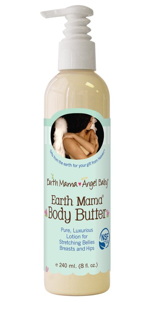 EARTH MAMA ANGEL BABY EARTH MAMA BODY BUTTER, 8 OZ