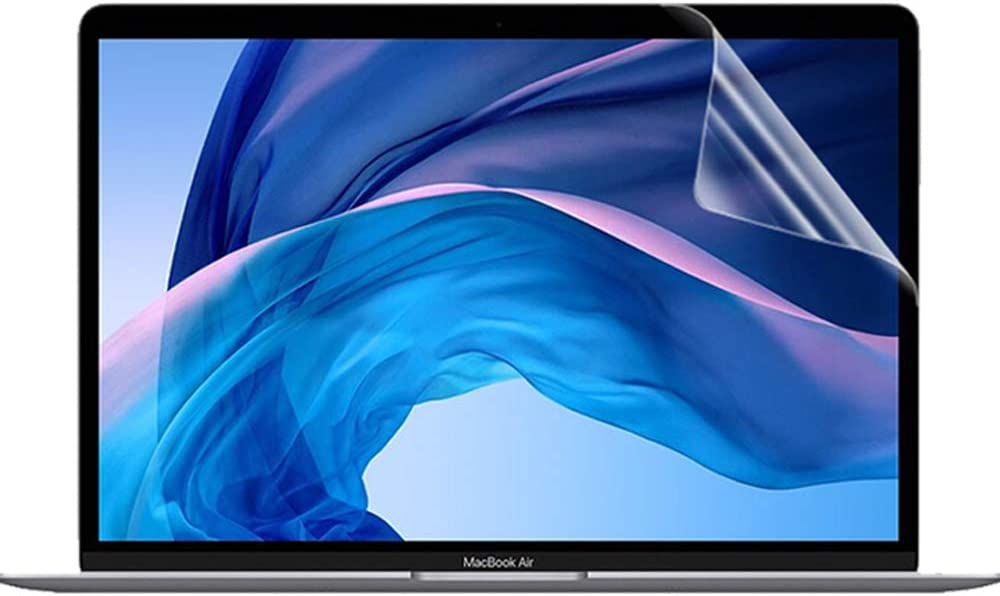 2 protectores de pantalla macbook pro air 13 2020-2018