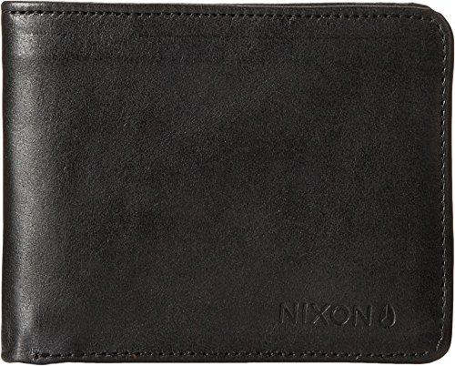 Nixon Men's Stealth Slim Bifold Wallet, Black, One Size ()